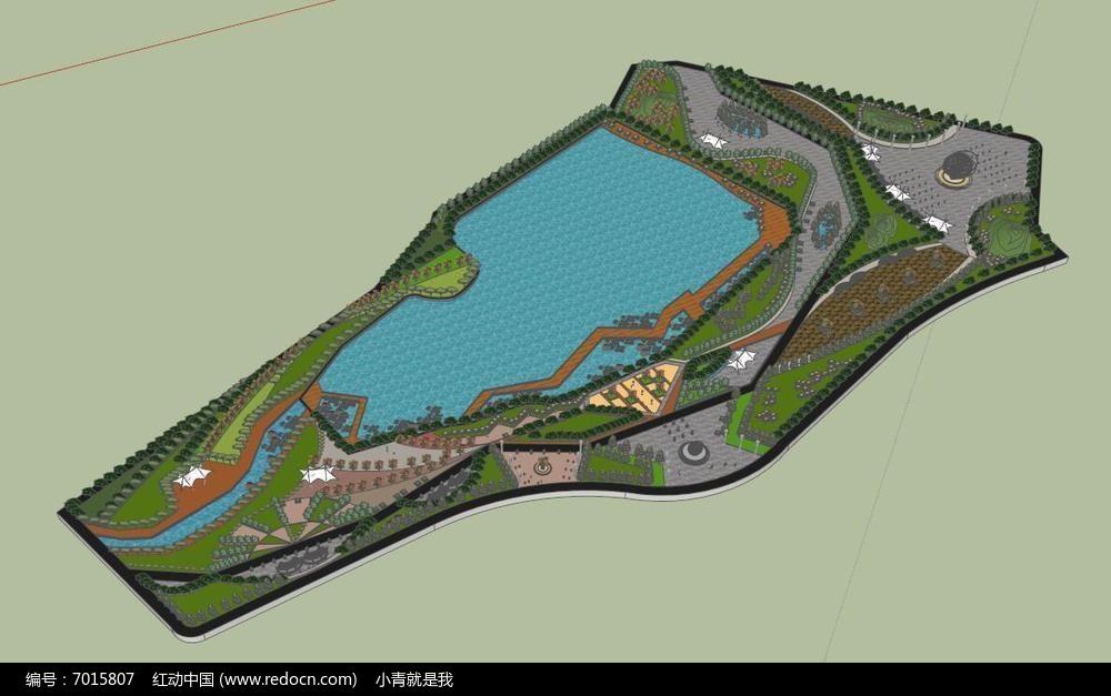 大水景公园景观图片