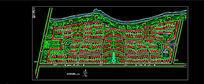 大型住区景观规划设计图纸CAD