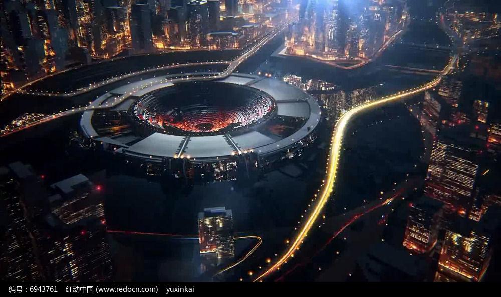 科技智慧城市视频特效设计图片