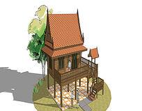 架空小木屋