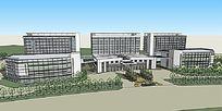 医院建筑模型