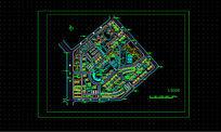 广东某居住区规划图