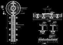 某广场园路铺装设计图