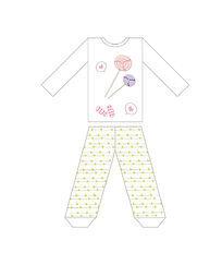 气球童装印花服装设计