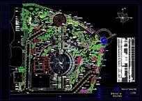文化广场种植平面图