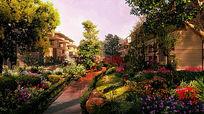 小区绿化景观