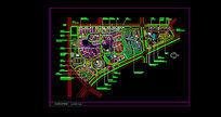 住宅区景观规划总图