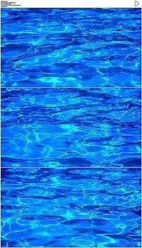 波光粼粼的水面实拍视频素材