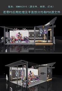 刀剑游戏展览设计3DMAX模型下载