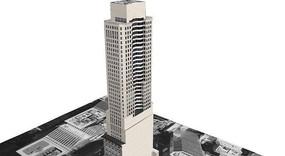 高层高档建筑模型