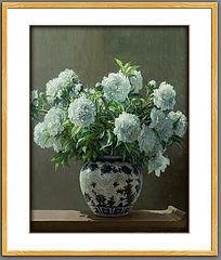 欧式古典花卉油画