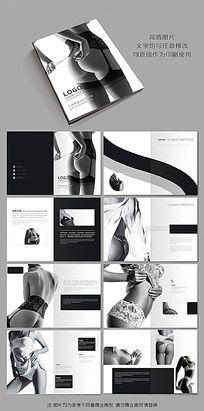 时尚性感女人情趣内衣产品画册