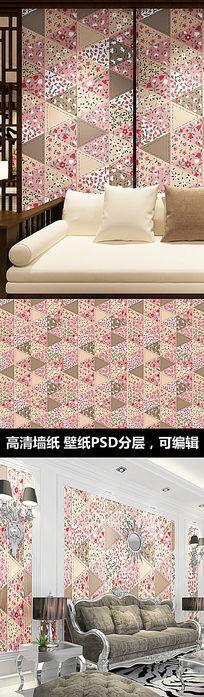 现代时尚图案花纹墙纸