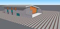 公共建筑模型
