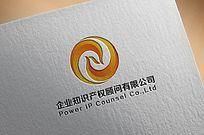N字母凤凰logo AI