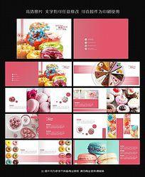 可爱甜点马卡龙甜甜圈产品画册 CDR