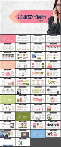 企业公司发展历程文化展示PPT模板