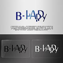 BHAPPY英文造型LOGO