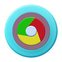 浏览器小清新版icon PSD