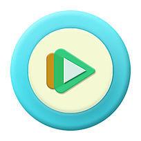 视频小清新版icon PSD