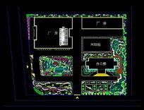 厂房绿化配置CAD