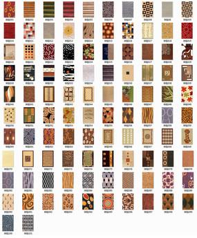 101张现代块毯贴图