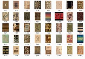 40张新式地毯贴图