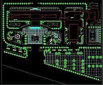 厂区绿化景观平面图 dwg