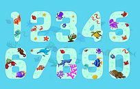 创意数字字体设计