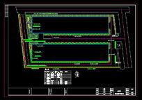 迪欧咖啡厂区绿化种植平面图