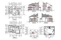 多层建筑别墅图