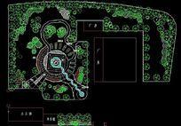 工厂绿化平面设计图 dwg