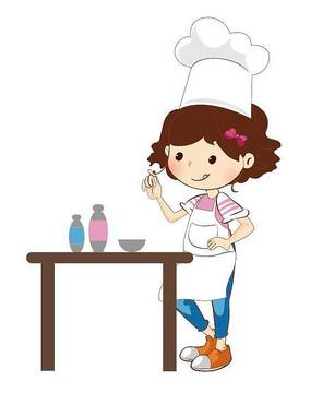 小女孩背影 可爱小女孩形象设计 可爱的卡通小女孩布娃娃图片 写字的
