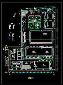某工厂总平面图 dwg
