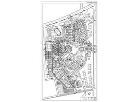 某校区规划平面图