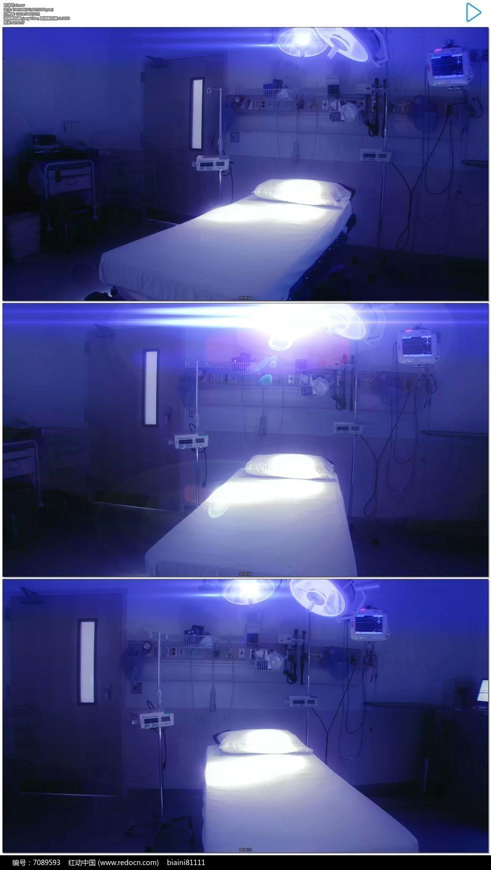 医院视频_医院急诊室实拍视频素材