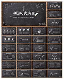 教育黑板课件PPT设计