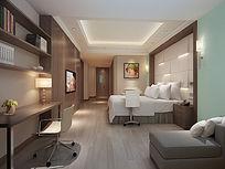酒店客房 卧室 JPG