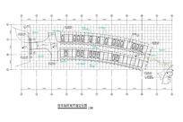 停车场区域平面定位图