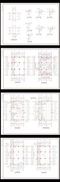 乡镇固戍村私宅施工图