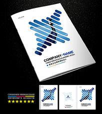 创意企业公司画册封面