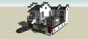 徽派中式住宅