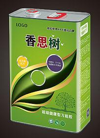 绿色树叶生态高级万能胶包装
