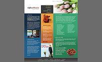 欧美植物网页设计