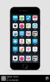 手机移动端桌面图标icon设计