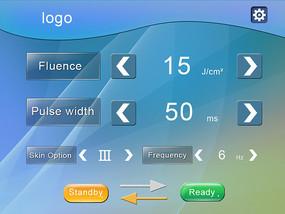 移动端UI控制界面 PSD