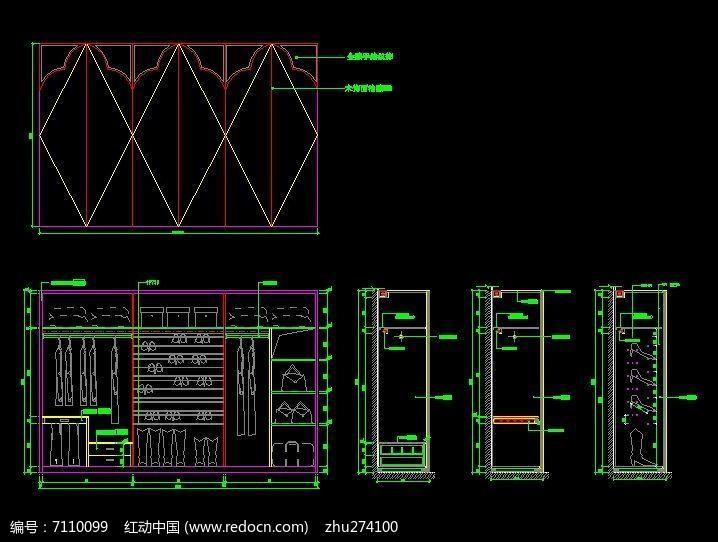 主卧室6开门大衣柜v卧室设计图蒲江装修设计图片