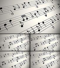 五线谱音符视频