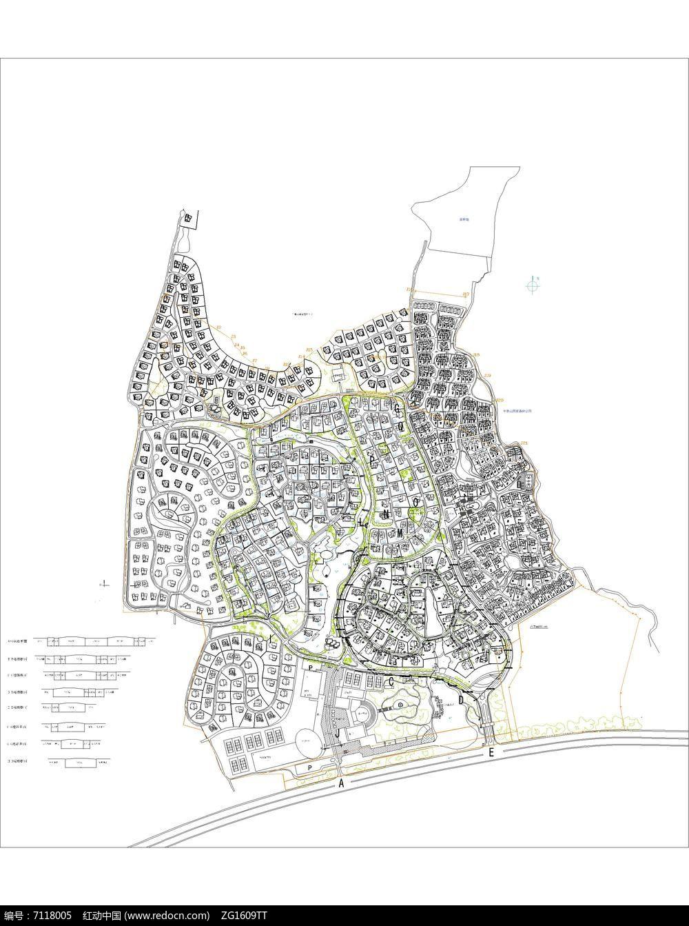 xxx居住区规划图