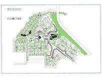 某高档住宅小区休闲广场景观平面图
